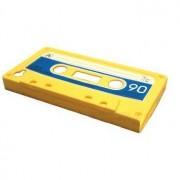 Apple Gult och blått kassettband-skal till iPhone 4/4s