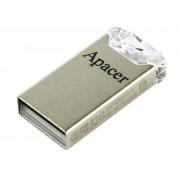 USB Flash Drive (Флашка) (16GB сребрист) Apacer AH111 - Crystal