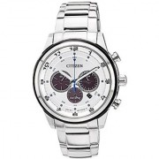 Citizen Eco-Drive Analog White Dial Mens Watch - Ca4034-50A