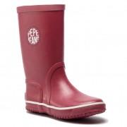 Cizme de cauciuc PEPE JEANS - Rain Logo PBS50076 Dk Red 272