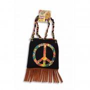 Geen Hippie schoudertas Peace