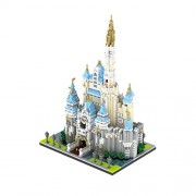 Generic Large Block Castle Model Figure Building Brick Plastic DIY Castle Blocks Educational Gift Children Compatible Educational Toys