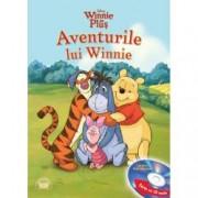 Disney Audiobook. Aventurile lui Winnie Carte + CD