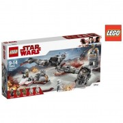 Lego star wars 75202 difesa di crait