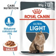 Royal Canin Ultra Light in Salsa - 12 x 85 g