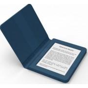 """E-Book Reader Bookeen SAGA, Ecran Multi-touch capacitive touchscreen E-Ink 6"""", Procesor 1GHz, 8GB Flash, Wi-Fi + Husa silicon inclusa (Albastru)"""