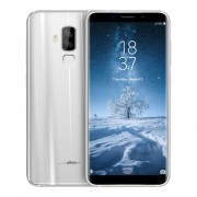 """HOMTOM S8 Android 7.0 4G 5.7"""" IPS Phone with 4GB RAM? 64GB ROM - Silver (EU Plug)"""