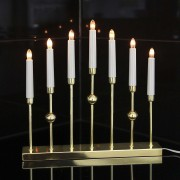 Luxurious candleholder Gustavo 7-light