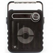 Bocinas 200 VORAGO MicroSD Bluetooth Portatil USB2.0 3.5MM Negro BSP-200