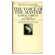 The voice of the master - Khalil Gibran - Livre