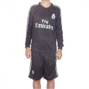 Navex Footbal Jersey Club Real Madrid Black Full Sleeve Ket S