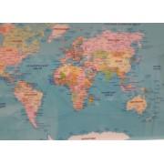 Kett-Up Настольное покрытие Карта Мира 40х60