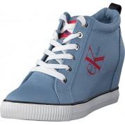 Calvin Klein Jeans Ritzy Denim Light Blue, Skor, Sneakers & Sportskor, Chukka sneakers, Blå, Dam, 36