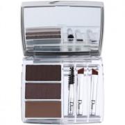 Dior All-In-Brow 3D kit para unas cejas perfectas tono 001 Brown 7,5 g