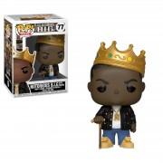 Pop! Vinyl Figura Funko Pop! Rocks Notorious B.I.G. con corona