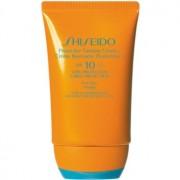 Shiseido Sun Care Protective Tanning Cream слънцезащитен крем за лице SPF 10 50 мл.