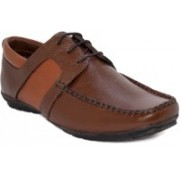 Blue Pop Men And Boys Casual Stylish Leather Party Wedding Formal Boots Shoes Boots For Men Boat Shoes For Men(Brown)