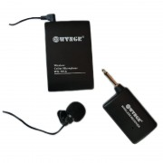 Microfon wireless tip lavaliera WG-101A, 30 m, modulare FM
