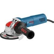 Polizor unghiular Bosch Professional X Lock GWX 9 125 S 900 W 11.000 RPM 125 mm diametru disc + cutie + maner auxiliar + aparatoare de protectie