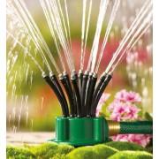 Aspersor tip Sprinkler 360 grade cu furtunuri flexibile multifunctional