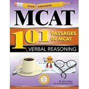 Examkrackers 101 Passages in MCAT Verbal Reasoning, Paperback/David Orsay