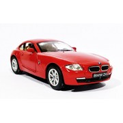 KINSMART SCALE 1:32 BMW Z4 COUPE TOY CAR, MULTICOLOR (Red)