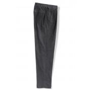 ランズエンド LANDS' END 10ウェール・ストレッチ・コーデュロイ・パンツ/快適ウエスト/2プリーツ/股上深め(ソープストーン)