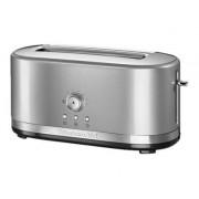 KitchenAid 5KMT4116 - Grille-pain - 2 tranche - 4 Emplacements - gris argenté