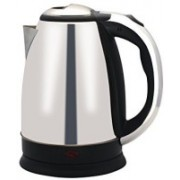 Wonder World ® 1.7L Stainless Steel Quick Heating Tea - Water Boiler Heater Pot Electric Kettle(1.7 L, Silver)