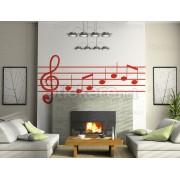 Note muzicale simple