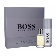Hugo Boss Boss Bottled 50Ml Edt 50 Ml + Deodorant 150 Ml Per Uomo(Eau De Toilette)