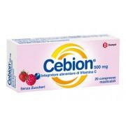 Dompe' Farmaceutici Spa Cebion Masticabile Senza Zucchero Vitamina C 20 Compresse
