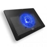"""Охлаждаща подложка за лаптоп Cooler Master Notepal L2, за лаптопи до 17"""" (43.18 cm), синя подсветка, черна"""