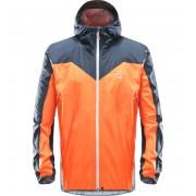 Haglofs L.I.M Comp Jacket Men - Cayenne/Tarn Blue - Vestes de Pluie XL