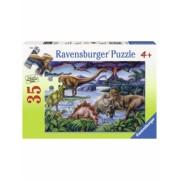Puzzle Dinozauri, 35 Piese Ravensburger