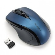 Kensington Pro Fit Mid-Size - Rato - para direita - óptico - sem fios - 2.4 GHz - receptor sem fio USB - sáfira azul