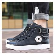 Zapatos De Alta Moda Loafer Botín Zapatillas Hombre Casuales -negro