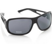 Diesel Rectangular Sunglasses(Grey)