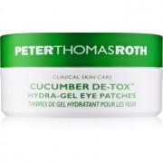 Peter Thomas Roth Cucumber De-Tox feuchtigkeitsspendende Gel-Maske für die Augen 30 Pairs 30 St.
