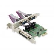 Conceptronic Placa PCI Express 1x Porta Paralela + 2x Portas Série
