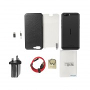 Ulefone-Geminipro Smartphone Cámara Doble Soporte De Memory Card 4Gb+64GB Negro Enchufe UK