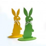 Coniglietto di legno - color giallo