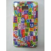 Силиконов гръб с надписи за Samsung i9100 Galaxy S2