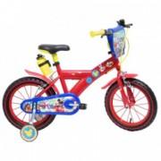 Bicicleta pentru baieti ajustabila din otel cu roti ajutatoare 16 and Denver Mickey Mouse