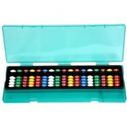 Aadithya Corp -17 ROD MultiColour with Pencil Box Abacus kit - Set of 1