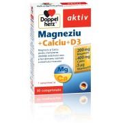 DOPPELHERZ MAGNEZIU+CALCIU+D3 30 comprimate
