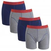 Vinnie-G boxershorts Flame Blue Uni 4-pack XL