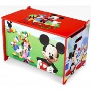 Ladita din lemn pentru depozitare jucarii Disney Mickey Mouse