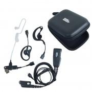 ProEquip PRO-U650SA Headset, 4-i-1 Svart PTT