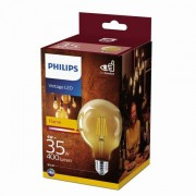 Philips Vintage classic LED 4W / 35W 400lm G93 E27 2700K GOLD NDSRT4